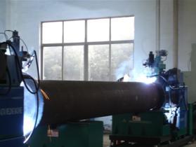 Slip-On 플랜지 자동 용접 기계를 가진 자동적인 관