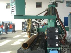 Roller-Bed-Type Pipe Flame Cutting & Beveling Machine