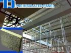 Pre Insulated Aluminium Composite PIR(Polyisocyanurate) Air Duct Panel