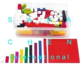 Number Sticks Set (Fraction Bars Set), 250 Pcs