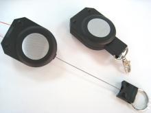 伸縮線鑰匙圈