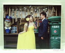 結婚禮物-相片布畫