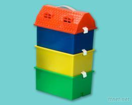 房屋收納盒