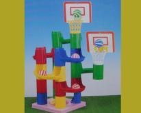 运动投篮积木