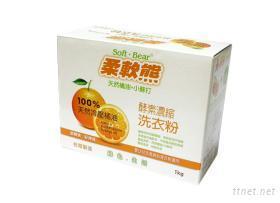 1kg天然橘油酵素濃縮洗衣粉