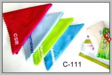 超細纖維擦拭布, 廣告促銷贈品, 眼鏡布