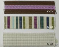 彩色凸带, 印刷织带