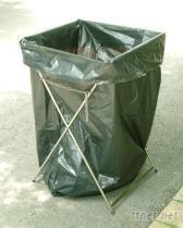 不鏽鋼垃圾袋架--特大黑色垃圾袋專用