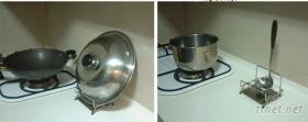 s-80-5a 不鏽鋼 鍋架 湯瓢架