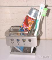SA-6A 板式花漾單籃 牙刷架