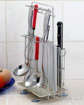 厨房展示架(不锈钢)