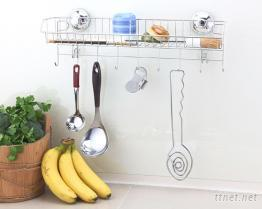 不锈钢厨房置物架