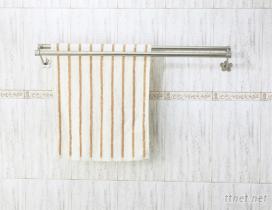see-60-2e 不鏽鋼 雙桿毛巾桿 63cm