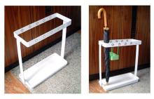 不鏽鋼直傘, 折疊傘, 花朵款傘架
