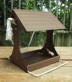 不锈钢养鸟器