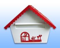 不鏽鋼房屋型信箱