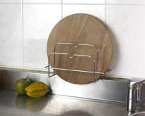 不鏽鋼鉆板鍋蓋兩用架