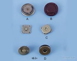 磁鐵鈕釦塑鋼磁釦