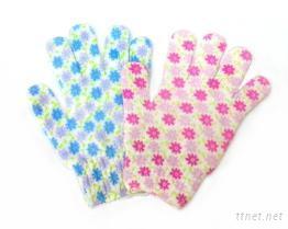 彩繪沐浴手套