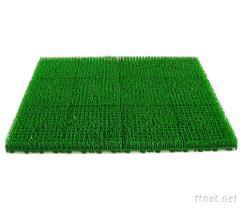 长草门垫-人工草皮