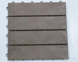 1 × 4 木紋地磚止滑墊