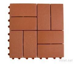 2 × 4 木紋地磚止滑墊