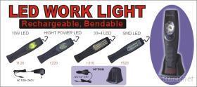 交、直流充電式 LED工作燈