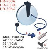 自動收線延長插座(HR-706)