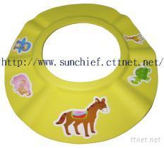儿童浴帽/婴幼儿洗发隔水浴帽/儿童洗头帽