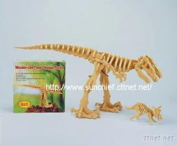 3D拚圖-恐龍(泡棉材質)