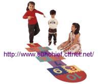 兒童遊戲地墊-跳房子, EVA泡綿遊戲墊