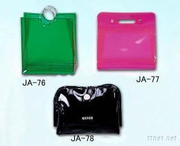 PVC手提袋子-JA-76, JA-77, JA-78