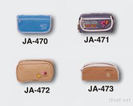 鉛筆袋-JA-470, JA-471, JA-472, JA-473