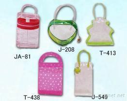PVC袋 -JA-81 , J-208 , T-413 , T-438 . J-549