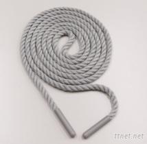 塑胶头棉质成衣拉绳