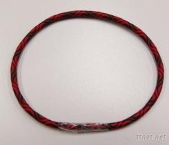 S型黑红龙纹松紧带