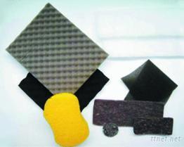 PU波浪隔音、吸音、活性碳海棉,洗車棉