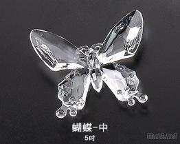 蝴蝶-中壓克力飾品