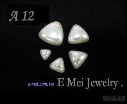 人造珍珠 ( 三角半球 )