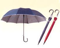 大傘面銀膠傘