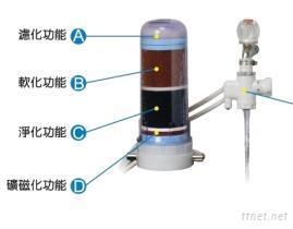 一機四體濾水器