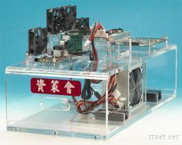 压克力制品电子线路展示
