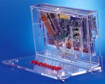 手提電腦透明展示架