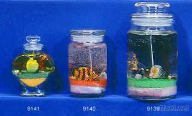 果凍蠟燭台