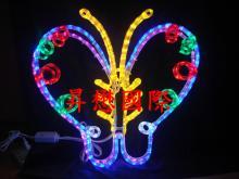 LED 3D立體蝴蝶造型燈