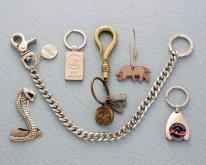 金屬鑰匙圈(鋅合金-1)