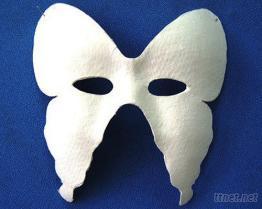 DIY環保紙漿蝴蝶面具