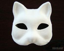 DIY環保紙漿動物面具