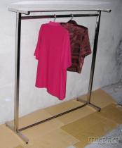 单管层板衣架