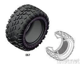 遙控車輪胎